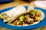 Mushroom, Potato, and Chorizo Tacos