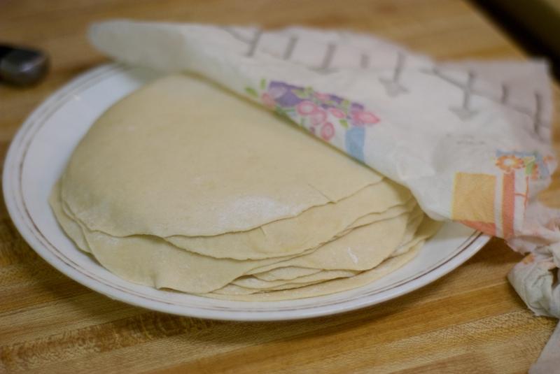 Kitchen Firsts Homemade Flour Tortillas The Weekend Gourmande