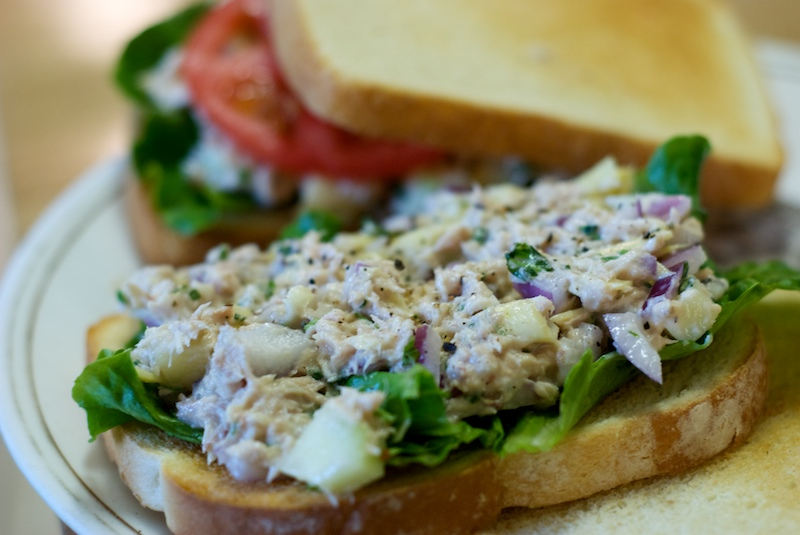 ... chicken salad and mediterranean tuna salad | the weekend gourmande