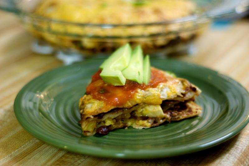 quesadilla pie | the weekend gourmande